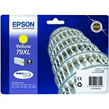 Image of Epson 79XL Yellow Inkjet Cartridge