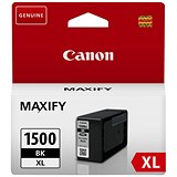 Image of Canon PGI-1500XL High Yield Black Inkjet Cartridge