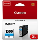 Image of Canon PGI-1500XL High Yield Cyan Inkjet Cartridge