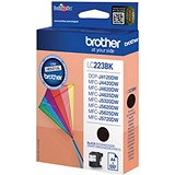 Image of Brother LC223BK Black Inkjet Cartridge