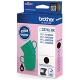 Image of Brother LC227XLBK High Yield Black Inkjet Cartridge