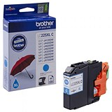Brother LC225XLC High Yield Cyan Inkjet Cartridge