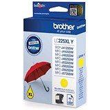 Brother LC225XLY High Yield Yellow Inkjet Cartridge