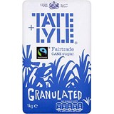 Tate and Lyle Granulated Pure Cane Sugar - 1kg Bag