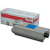 Image of Oki 44973536 Black Laser Toner Cartridge