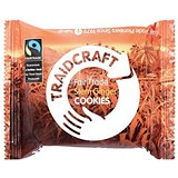 Image of Traidcraft Fairtrade Stem Ginger Cookies / 2 Biscuits per Minipack / Pack of 16