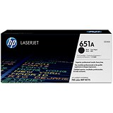 Image of HP 651A Black Laser Toner Cartridge