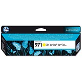 Image of HP 971 Yellow Ink Cartridge