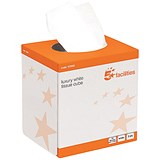 Image of 5 Star Facial Tissues / 2-Ply / 24 Cubes of 70 Sheets