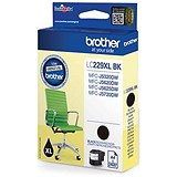 Image of Brother LC229XLBK Black Inkjet Cartridge