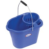 Oval Mop Bucket / 12 Litre / Blue