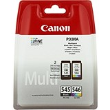 Image of Canon PG545/CL546 Black and Colour Inkjet Cartridges (2 Cartridges)