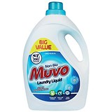 Image of Muvo Professional Liquid Laundry Detergent / Non Bio / 100 Washes / 3 Litres
