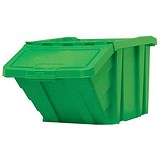 Image of Recycle Storage Bin / 87 Litre / Green