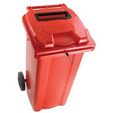 Image of Wheelie Bin / 120 Litre / Red