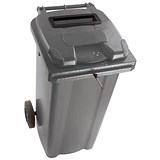Image of Wheelie Bin Slot & Lid Lock / 140 Litre / Grey