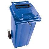 Image of Wheelie Bin Slot & Lid Lock / 140 Litre / Blue