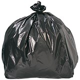 5 Star Refuse Sacks / Medium Duty / 435x290x970mm / Pack of 200