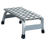 Image of Aluminium Platform / Light Duty / Slip Resistant / W520xD305xH200mm