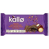 Image of Kallo Gluten-free Rice Cake Thins / Milk Chocolate and Caramel / 90g