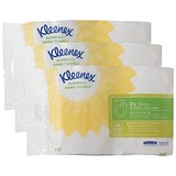Image of Kleenex Slimroll Hand Towels / White / 3 Packs of 2 Rolls