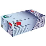 Image of Nitrile Examination Gloves / Medium / Blue / Pack of 200