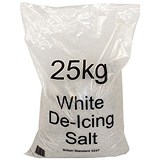 Image of Salt De-icing Bag / 25kg / White / Pack of 20