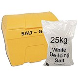 Image of Winter Kit / Yellow Salt Bin 200L / White Salt Bags 8 x 25kg