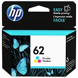 Image of HP 62 Tri-Colour Ink Cartridge