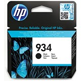 Image of HP 934 Black Ink Cartridge