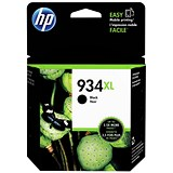 Image of HP 934XL Black Ink Cartridge