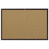 Image of Nobo Euro Board Cork / Black Frame / 1200x900mm