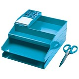 Avery ColorStak Office Desk Set - Blue