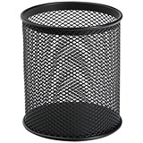 Image of Pencil Holder Wire Mesh - Black