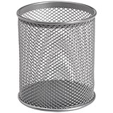 Pencil Holder Wire Mesh - Silver