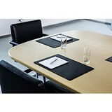 Image of Durable Conference Desk Mat / Black / 42 x 30cm