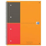Image of Oxford International Connect Wirebound Notebook - A4