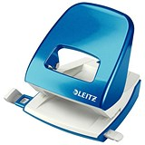 Image of Leitz NeXXt WOW Hole Punch / Blue / Punch capacity: 30 Sheets