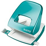 Image of Leitz NeXXt WOW Hole Punch / Ice Blue / Punch capacity: 30 Sheets