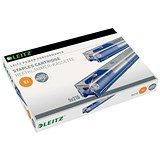 Image of Leitz Staple Cassette Cartridge 210 Staples / K6 Blue / Pack of 5