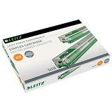Image of Leitz Staple Cassette Cartridge 210 Staples / K10 Green / Pack of 5
