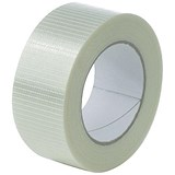 Image of Cross Weave Tape / 50mm x 50m / Pack of 18