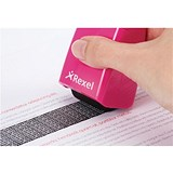 Image of Rexel ID Guard Roller - Pink with Black Ink