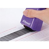 Image of Rexel ID Guard Roller - Purple with Black Ink