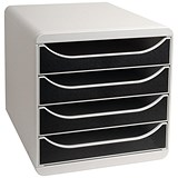 Image of Multiform Big Box - Light Grey & Black