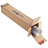Image of Postal Tube Long Box Section - Pack of 10