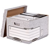 Image of Fellowes Heavy Duty Bankers Box / Large / Pack of 10