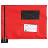Image of A4 Flat Mailing Pouch / 285mm x 345mm / Red