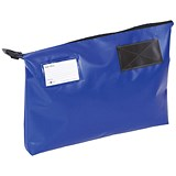 A3 Mailing Pouch with Gusset / 470 x 336 x 76mm / Blue