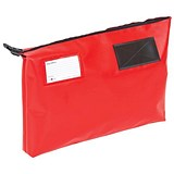 Image of A3 Mailing Pouch with Gusset / 470 x 336 x 76mm / Red
